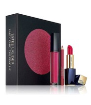 ESTEE LAUDER Party Chic The Pink Lip Gift Set - $47.41