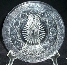 "IMPERIAL CAPE COD GLASS BREAD DESSERT PLATES 7  6 5/8"" CRYSTAL - $29.44"