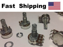A500K OHM Audio POT Potentiometer Replace for Electric Guitar builders p... - $7.91