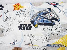 Pottery Barn Star Wars Twin Flat Sheet Millennium Falcon X Wing Tie Fighter PBK - $25.00