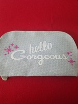 Benefit Cosmetics Hello Gorgeous Dome Shape Large Cosmetic Bag ❤️ 100% Authentic - $9.85
