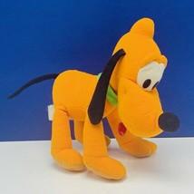 Pluto Mickey Mouse plush stuffed animal Walt Disney Store bean bag disne... - $12.55