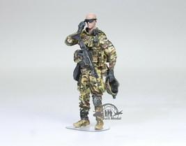 US Navy Seal 6 In fight Multicam camouflage uniform 1:35 Pro Built Model #7 - $49.48