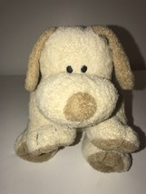 "Ty Pluffies Plush Stuffed Animal Lovey Tan Dog Named Plopper from 2002 8"" - $28.61"