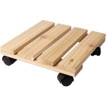 P55 CDW12 Plastec Cedar Wood Plant Caddy - $34.63 CAD