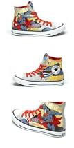 Converse Superman Cloud Gray Hi-Top Shoes 3 Laces Icon Lining Nib Mens Disc Vhtf - $79.99