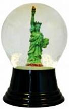 """PR4612 - Perzy Snowglobe, Medium Statue of Liberty - 5""""H x 3""""W x 3""""D - $46.20"""