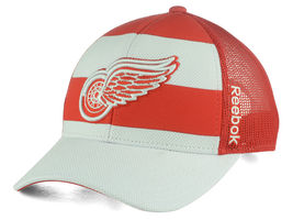 NEW NHL Detroit Red Wings Reebok Ice Basket Adjustable Cap  - $5.00