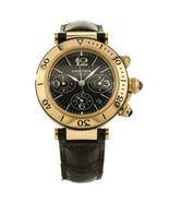 Cartier Pasha Seatimer 18K Rose Gold Automatic Chronograph Men's Watch W... - $14,845.05