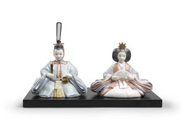 Lladro Hinamatsuri Dolls Figurine 01009246 - $2,880.00