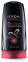 L'Oreal Paris Advanced Haircare Triple Resist Reinforcing Conditioner, 2... - $17.80