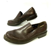 Mephisto  Mens 12 Air Jet Brown Leather Casual Loafers Shoes (sh-192) - $74.44