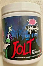 Brainiak Labz JOLT Extreme Pre-Workout, 30 Servings - 2 FLAVORS - RARE!! - $44.99