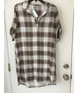 Velvet Heart Marcy Plaid Dress Women's SIze M NWT - $20.33