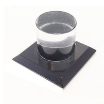 Black Acrylic Stick-On Mirror Knob - $11.25