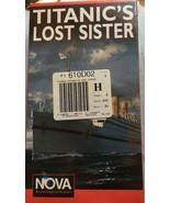 Nova Titanic's Lost Sister The Britannic New Sealed VHS Tape Movie - $32.62
