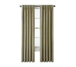 Royal Velvet Supreme Pinch-Pleat/Back-Tab Thermal Lined Panel 37.5 X 63 Sage - $23.65