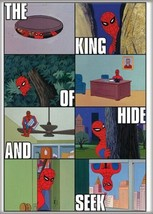 Marvel Comics The Amazing Spider-Man Cartoon Panels Refrigerator Magnet NEW - $3.99