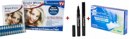 Bright White Smile Teeth Whitening Kit + 3D Whitening Strips + 2 Whiteni... - $38.79