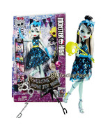 Year 2015 Welcome to Monster High 11 Inch Doll Set - FRANKIE STEIN with ... - $39.99