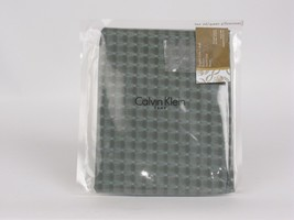 Calvin Klein WASH Differential Grid Lichen Standard Pillowcases - $39.85