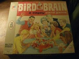 1966 Milton Bradley Bird Brain Cagey Card Game - $25.00