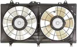 A/C DUEL FAN ASSEMBLY 620-579 FOR 12 13 14 15 CHEVROLET CAMERO 3.6L V6  image 2