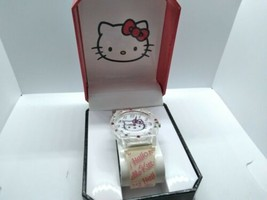Sanrio Hello Kitty 2013 Watch, New In Box, 35mm SIL-3410 - $25.00
