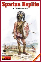 Miniart Models - 16012 - Spartan Hoplite V Century B.C. - $17.99