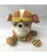 "Nickelodeon Paw Patrol Rubble Construction Bulldog 7"" Plush  - $14.84"
