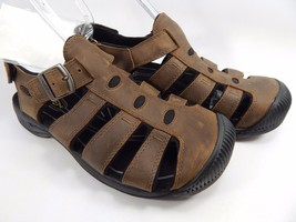 Keen Reisen Fisherman Men's Sandals Size US 9 M (D) EU 42 Brown / Black