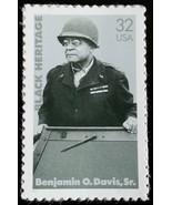 1996 32c Benjamin O. Davis, Sr. Brigadier General Scott 3121 Mint F/VF NH - $0.99