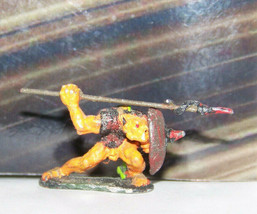 Vintage Dungeons & Dragons Rare Metal Miniature D&D Ral Partha Painted Goblin - $17.09