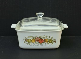 Corning Ware Spice of Life L'Echalote P-4-B  1.5 Quart Dish Pyrex With L... - $39.99
