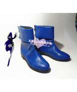 Teen Titans Raven blue cosplay shoes boots shoe boot  #HY026 - $62.00