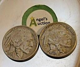 Buffalo Nickel 1935 P and 1935 S  AA20BN-CN7002