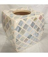 Brand New porcelain ceramic Resin square Mosaic tissue cover soft multi ... - $28.70
