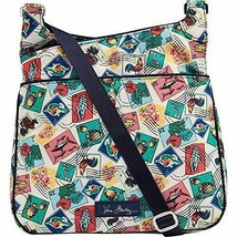 Vera Bradley Lighten Up Slim Crossbody Bag CUBAN STAMPS NWT MOTHERS DAY ... - £26.89 GBP