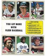 1983 Fleer Promo Uncut Sheet - Collectible - $4.95