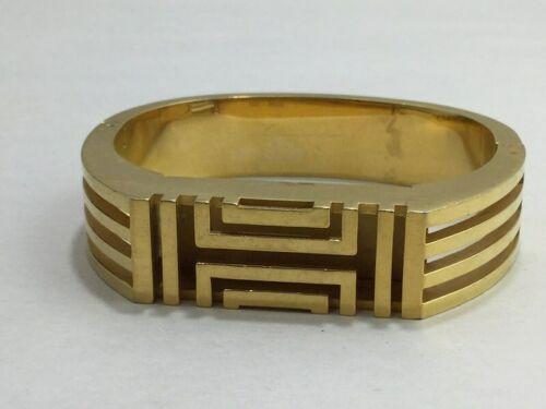 Tory Burch FitBit Gold Tone Holder Hinge Bangle Case Band Bracelet BT2426 Flex