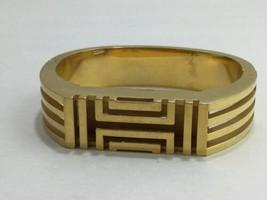 Tory Burch FitBit Gold Tone Holder Hinge Bangle Case Band Bracelet BT2426 Flex image 1