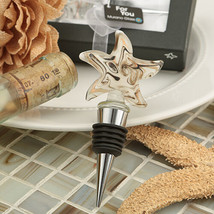 1 Murano Starfish Swirl Art Design Wine Bottle Stopper Wedding Favor Gif... - $6.98