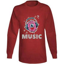 Monster Music Head Phones Long Sleeve T Shirt image 9