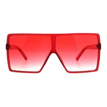 Super Oversized Sunglasses Womens Retro Fashion Square Cover Shades - $10.75