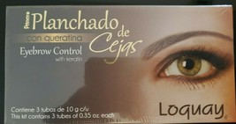 LOQUAY: Eyebrow Control with keratin / Planchado de cejas con queratina - $16.24