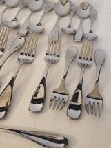 Oneida Stainless Flatware 36 pieces Mixed Lot Forks Spoons Knives shiny ... - $41.39