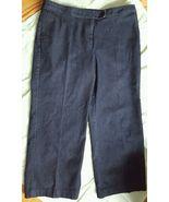 Attention Womens Jeans Denim Pants Size 18 Dark Rinse Stretch EUC - $9.40