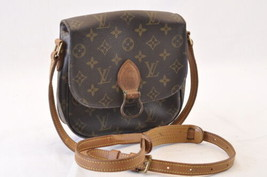 LOUIS VUITTON Monogram Saint Cloud MM Shoulder Bag M51243 LV Auth 7789 - $360.00