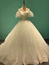 DuLin champagne spray gold multifunctional wear custom wedding dress - $499.00