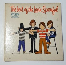 1967 THE BEST OF LOVIN' SPOONFUL LP RECORD ORIGINAL ALBUM With Photos - £11.71 GBP
